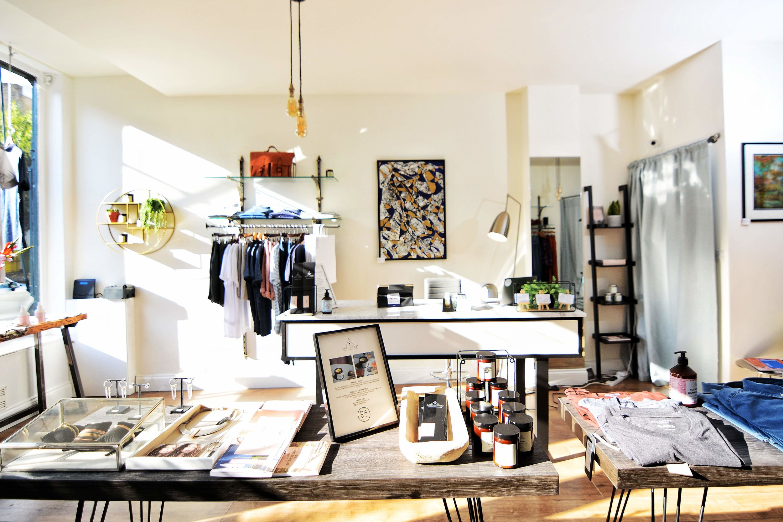 Scandi-style D.A.Y boutique in Peckham. Image; by  JoJo Mead