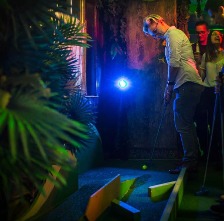 Who wants a game of golf in a tropical paradise? Image; @plonkgolf