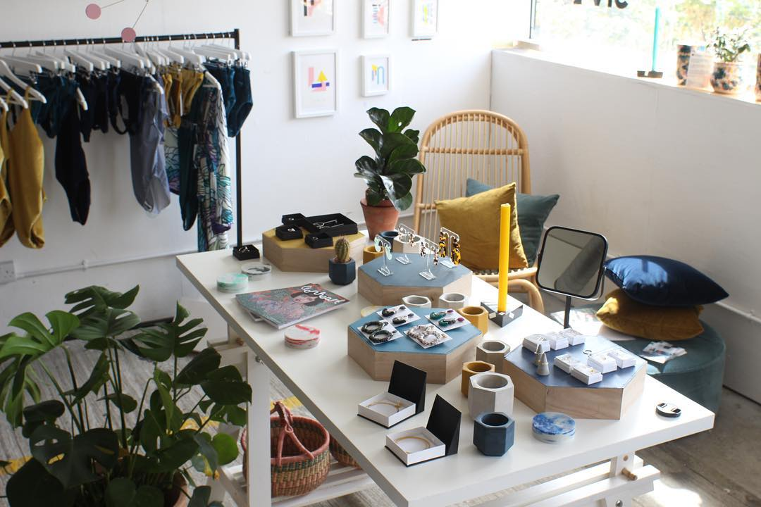 Flocks first Pop-up store at Peckham Levels