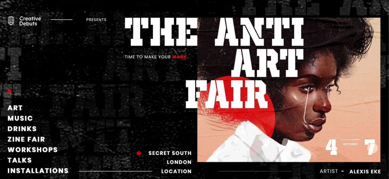 The Anti Art Fair in Peckham hosted by Creative Debuts