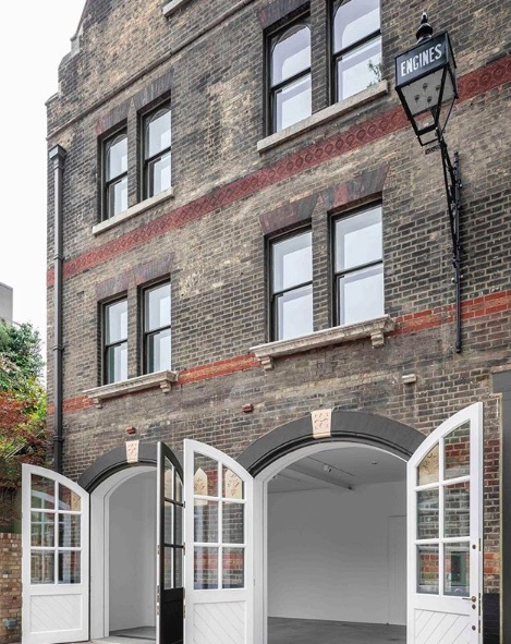 South London Gallery Fire Station opens in Peckham. Image: @southlondongallery