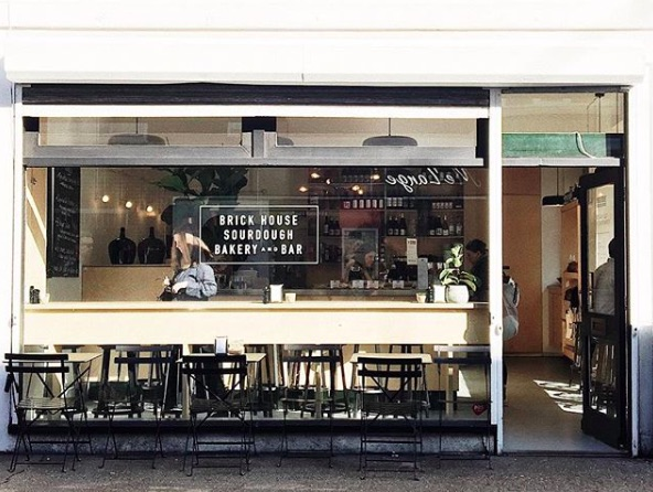 Brick House bakery and cafe in Peckham