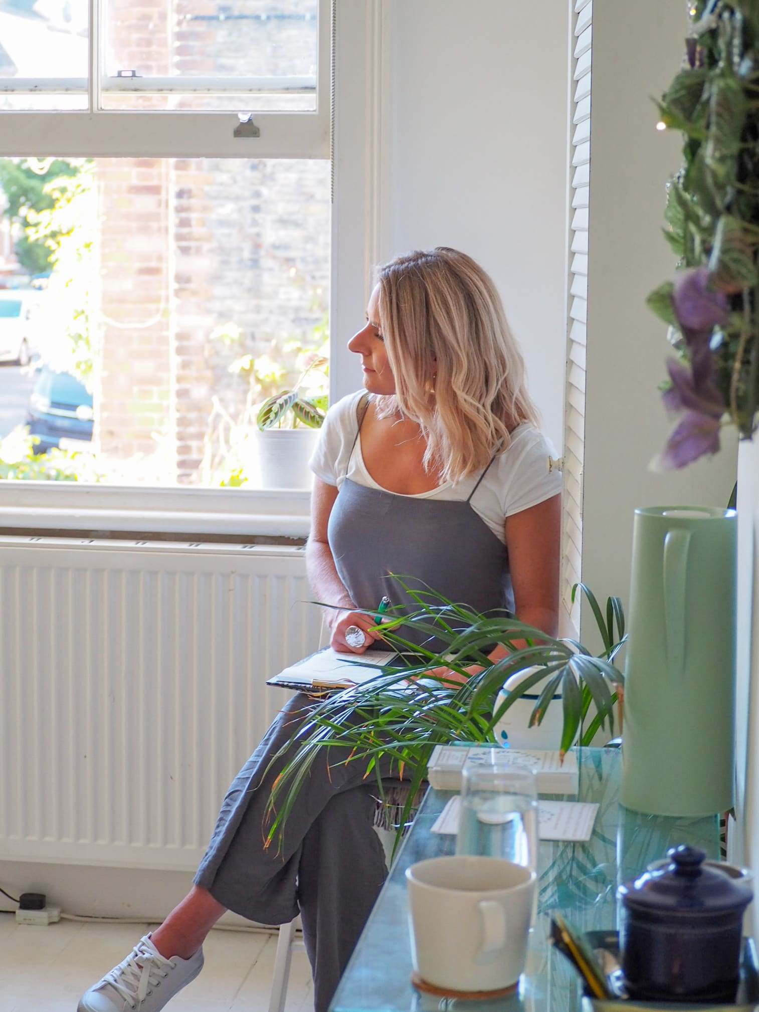 Ele, founder of The Nourish Shed