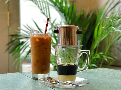 Vietnamese coffee at Bar OM. Image: @bar_om_peckham