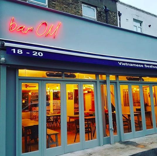 New Peckham bar, Bar OM. Image @bar_om_peckham