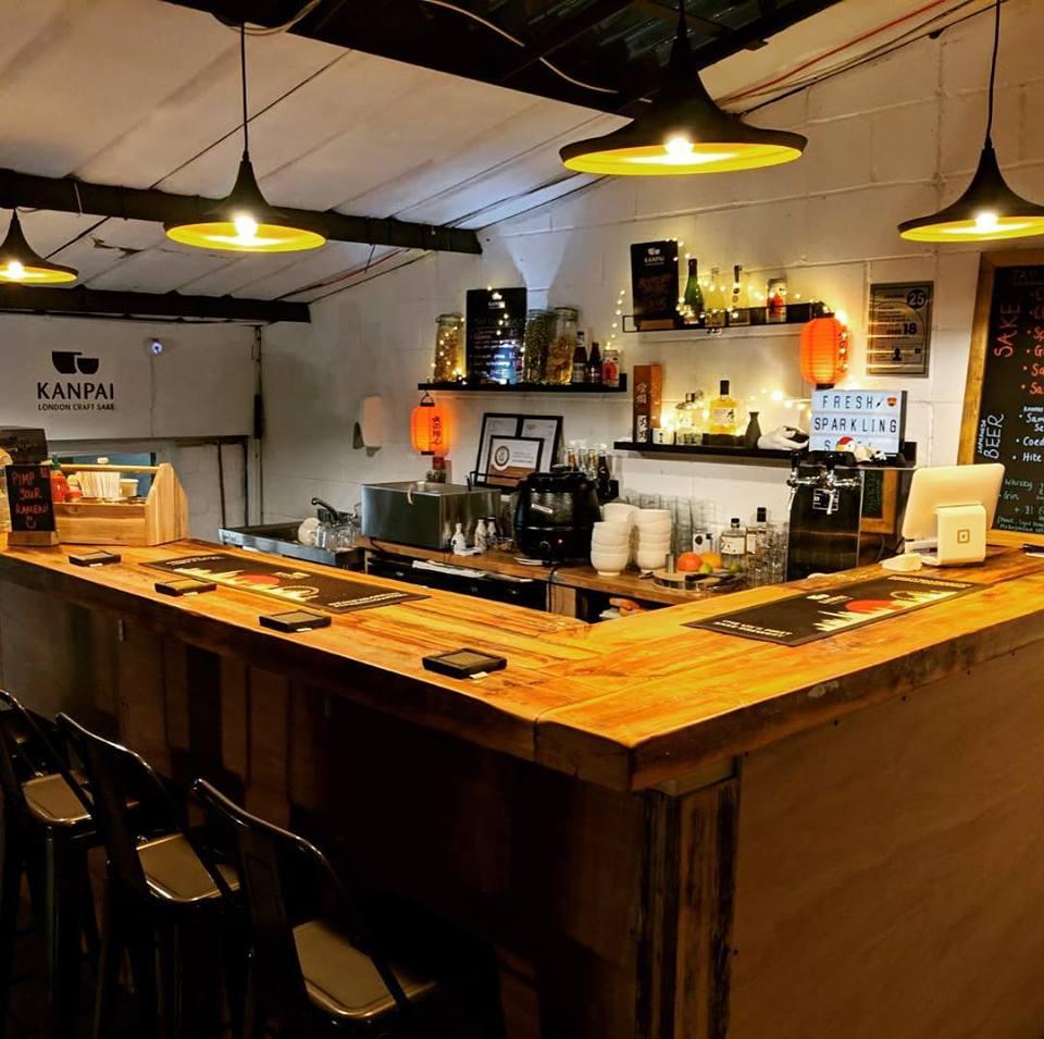 Kanpai Tap Room in Peckham. Image: @Kanpai