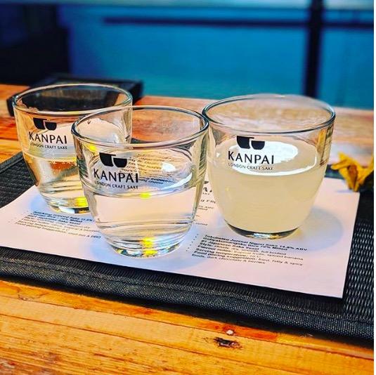 Kanpai serves Sake! image: @kanpailondon