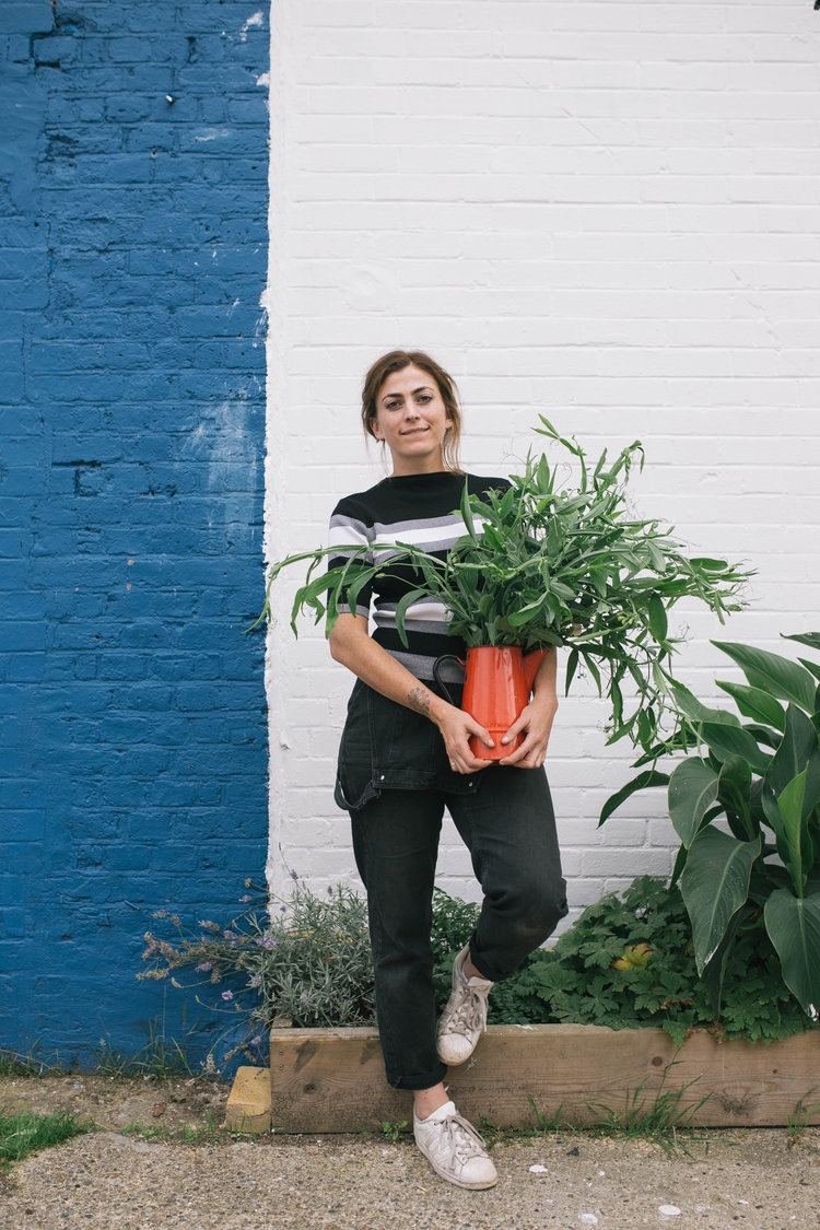 Anna - owner of Bunch Flowers. Image cred: http://www.bunchlondon.com/about