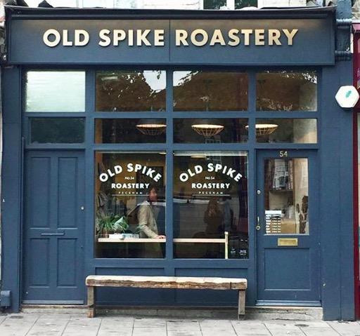 Old Spike Roastery cafe. Image cred: @oldspikeroast