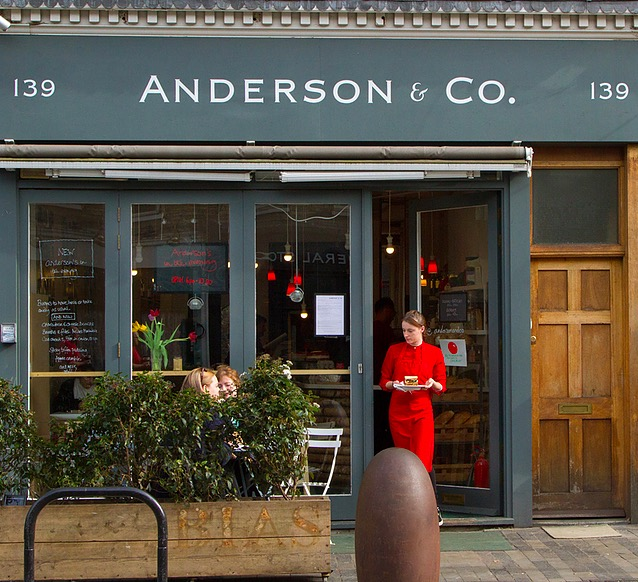 Gorgeous Peckham Cafe, Anderson & Co. Image: www.andersonandcompany.co.uk