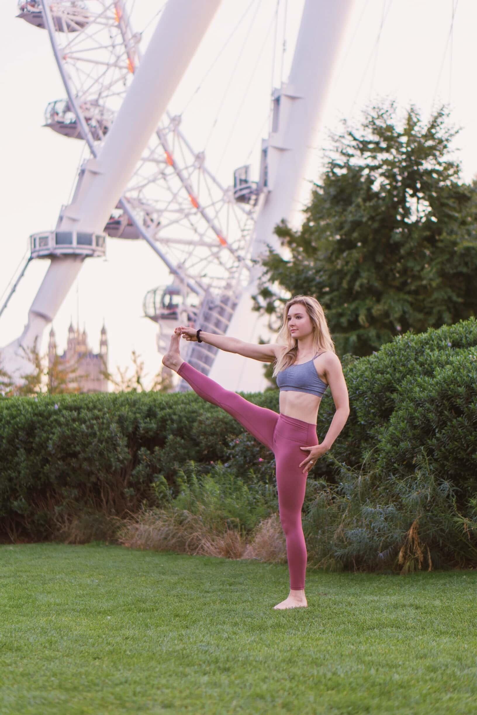 South East London yoga teacher - Sarah Fretwell