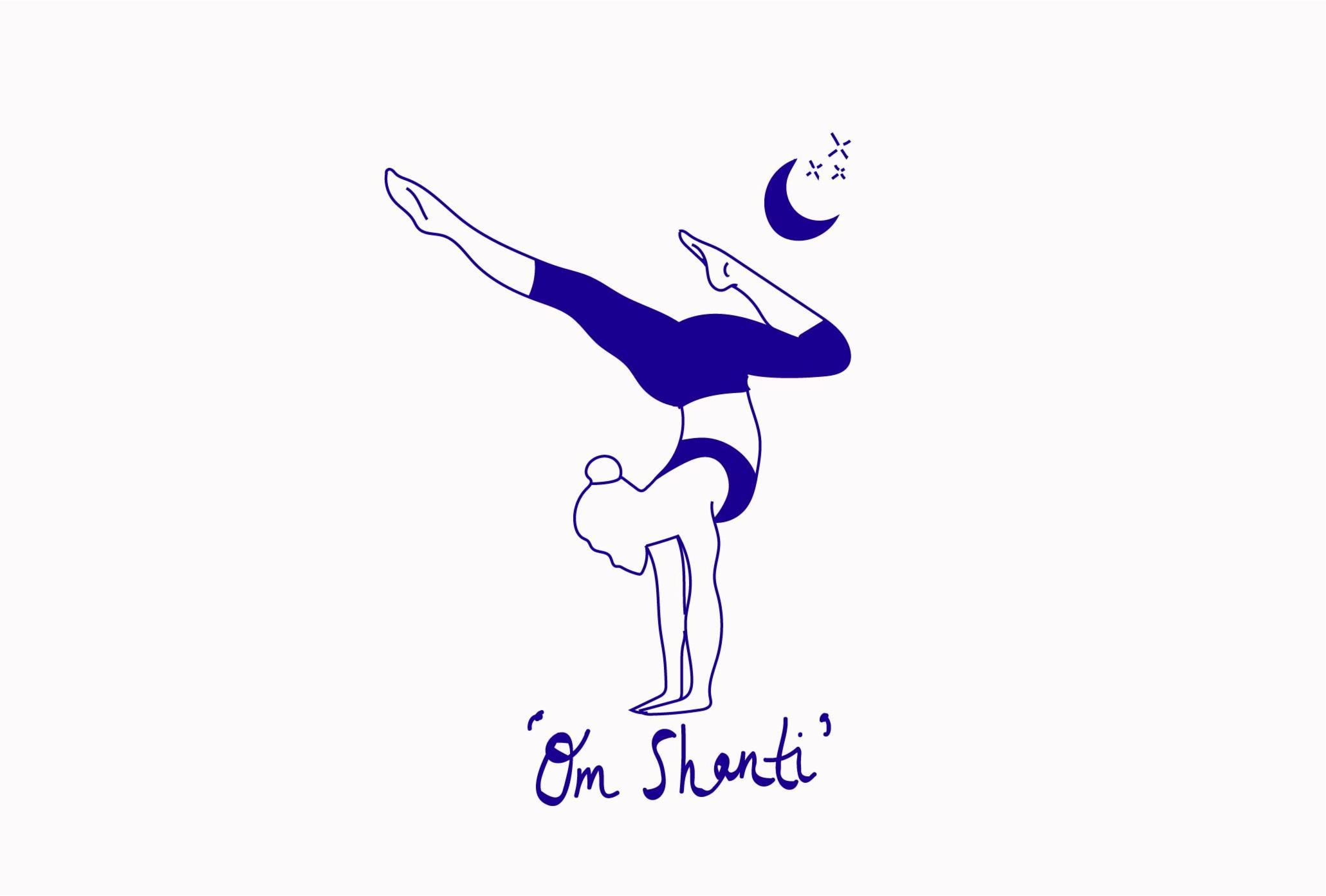 yoga pose illustration by SouthEast15
