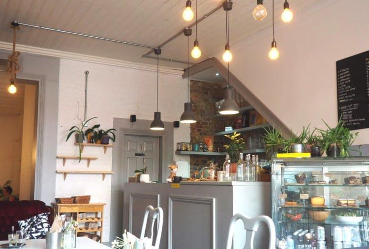 Vegan Peckham cafe serving gorgeous rose lattes -