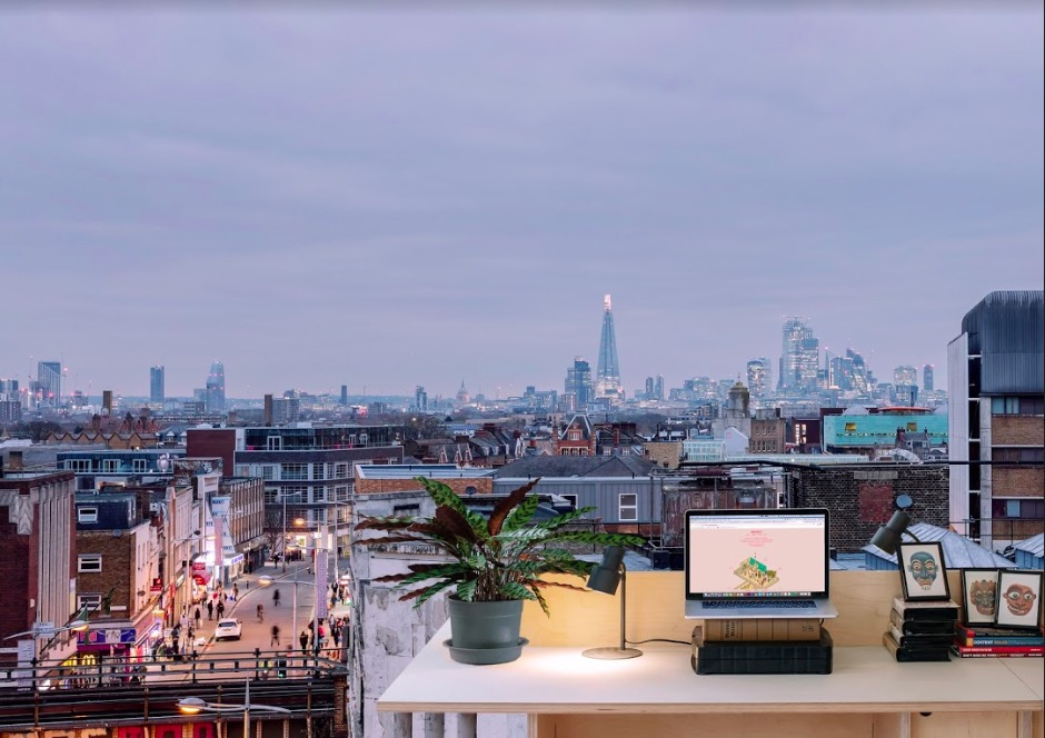 Peckham's new rooftop co-working space: win 4 FREE desks -