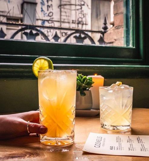 Mead cocktails at Gosnells. Image cred:  @gosnellsmead