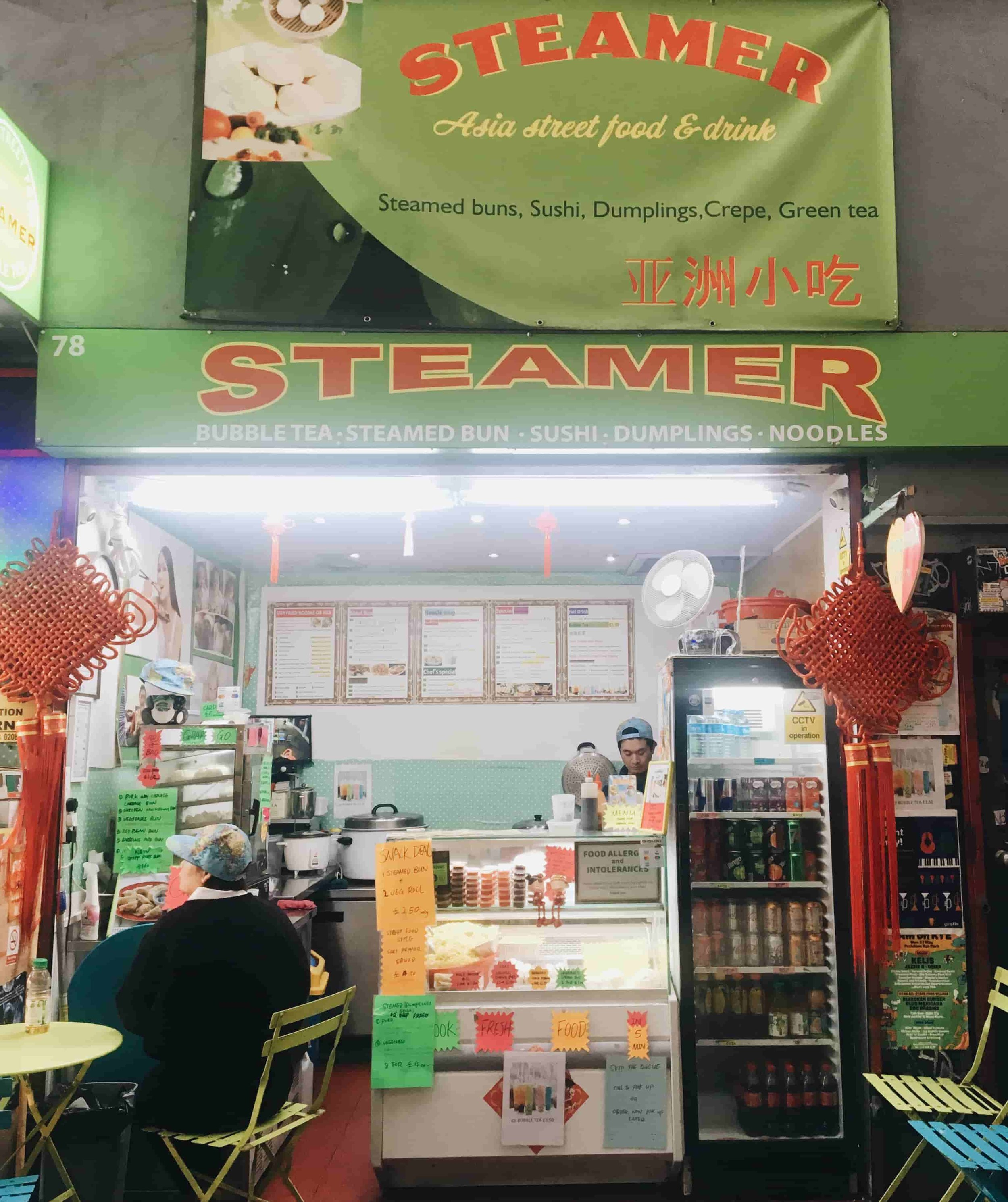 Steamer has moved from Peckham Rye station. Image cred: SouthEast15