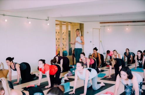 Take part in £5 yoga classes from LEVELSIX Yoga