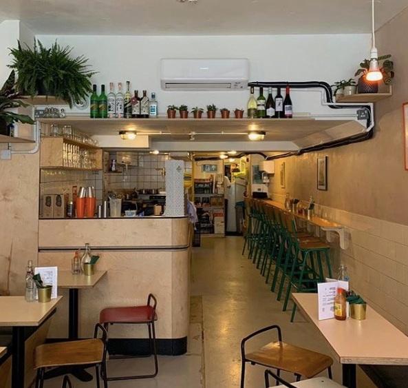 Taco Queen restaurant in Peckham. Image by @skyecb via @tacoqueenldn
