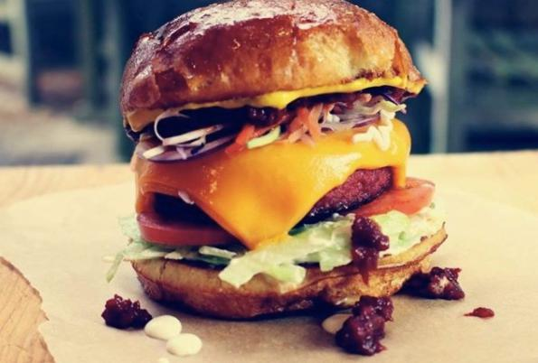 Burgers from pop up - Top Bun