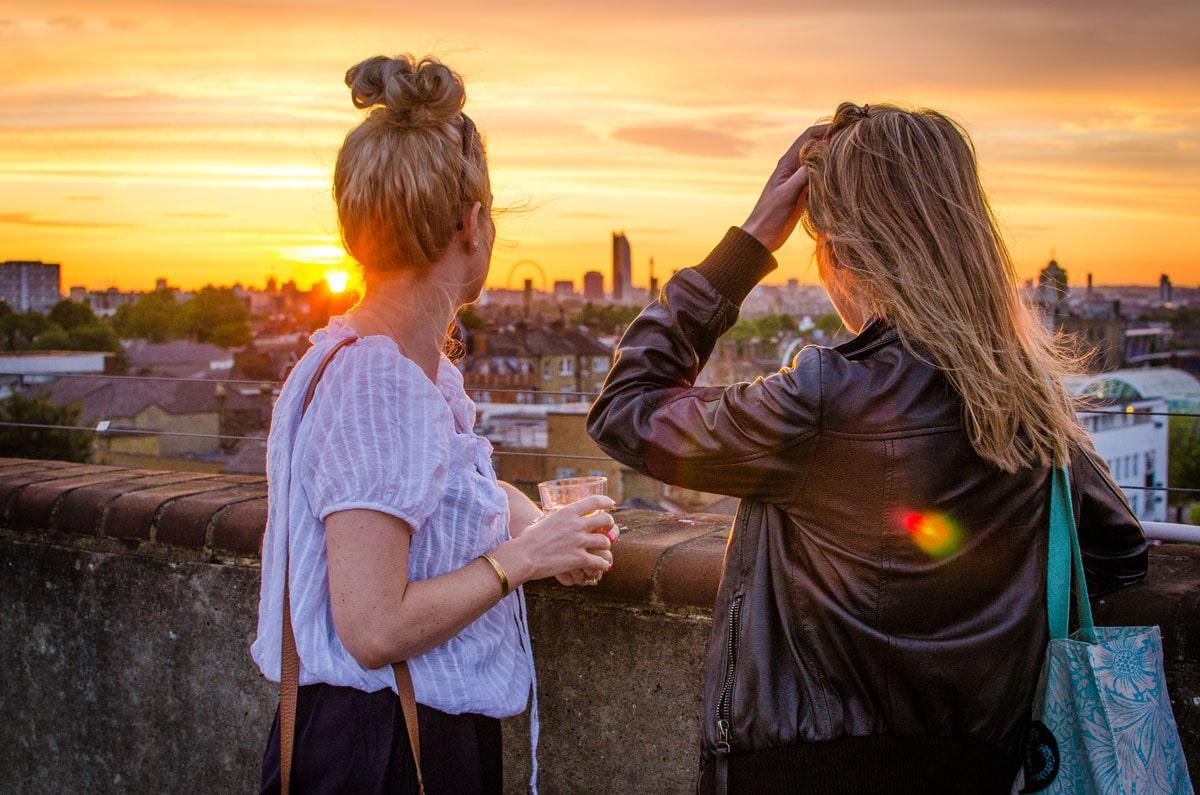 Frank rooftop bar - Peckham