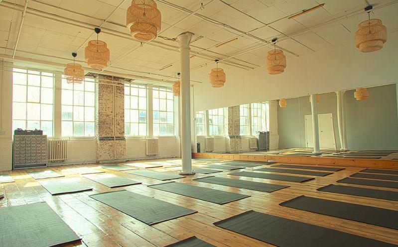 Yogarise in Peckham. Image: Yogarise London