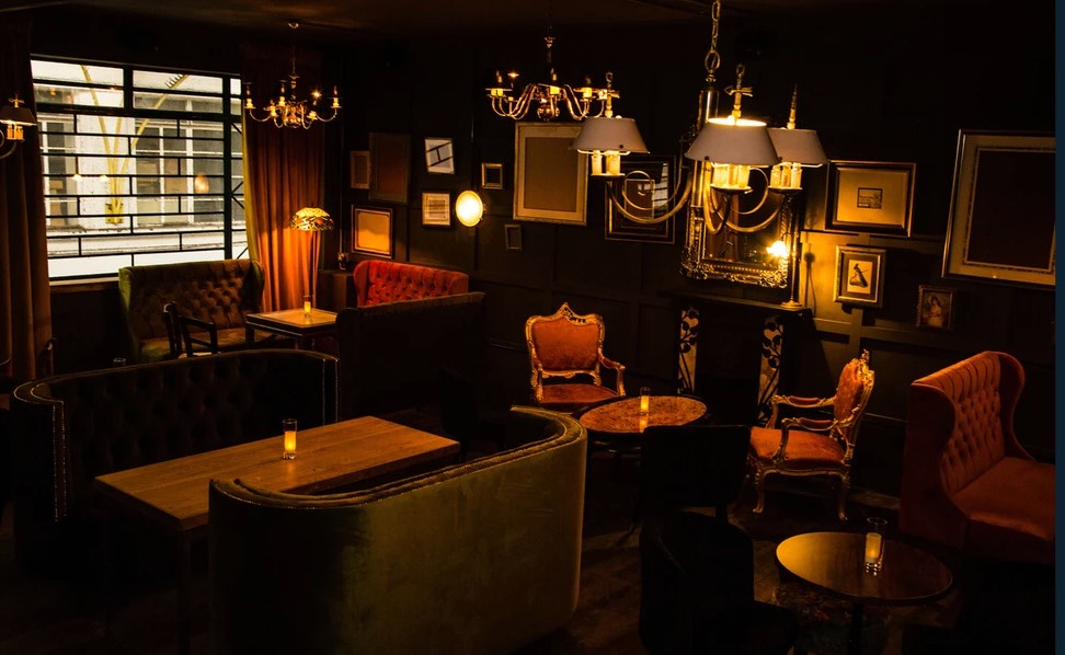 The CLF Art Lounge - a new stylish bar in Peckham. Image cred: The CLF Art Lounge