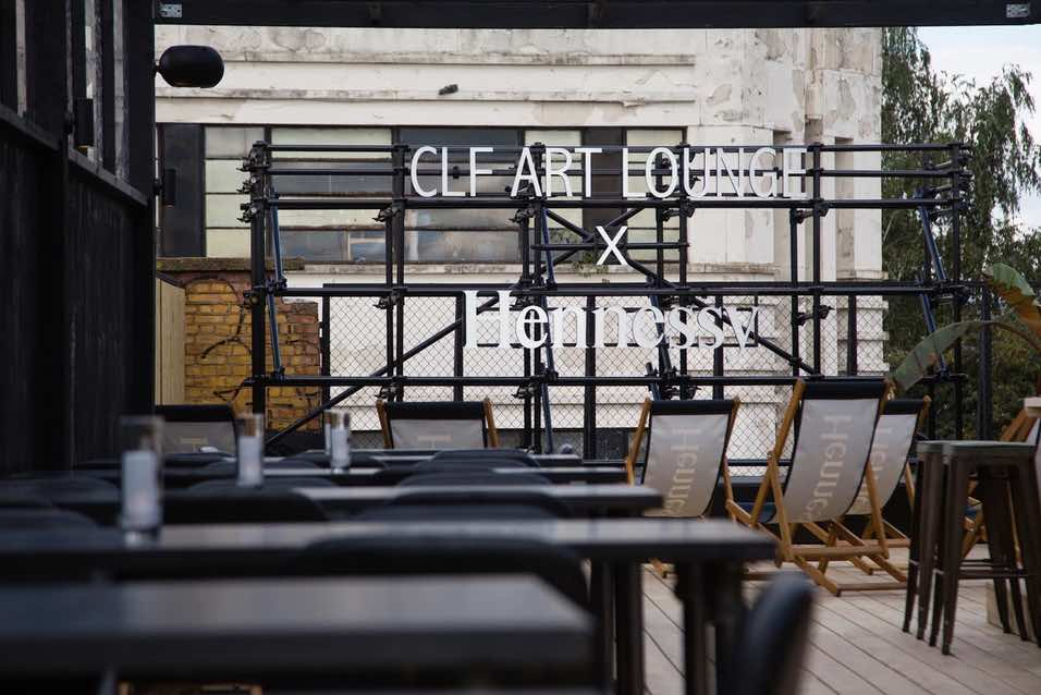 The CLF Art Lounge has a rooftop bar and garden. Image The CLF Art Lounge