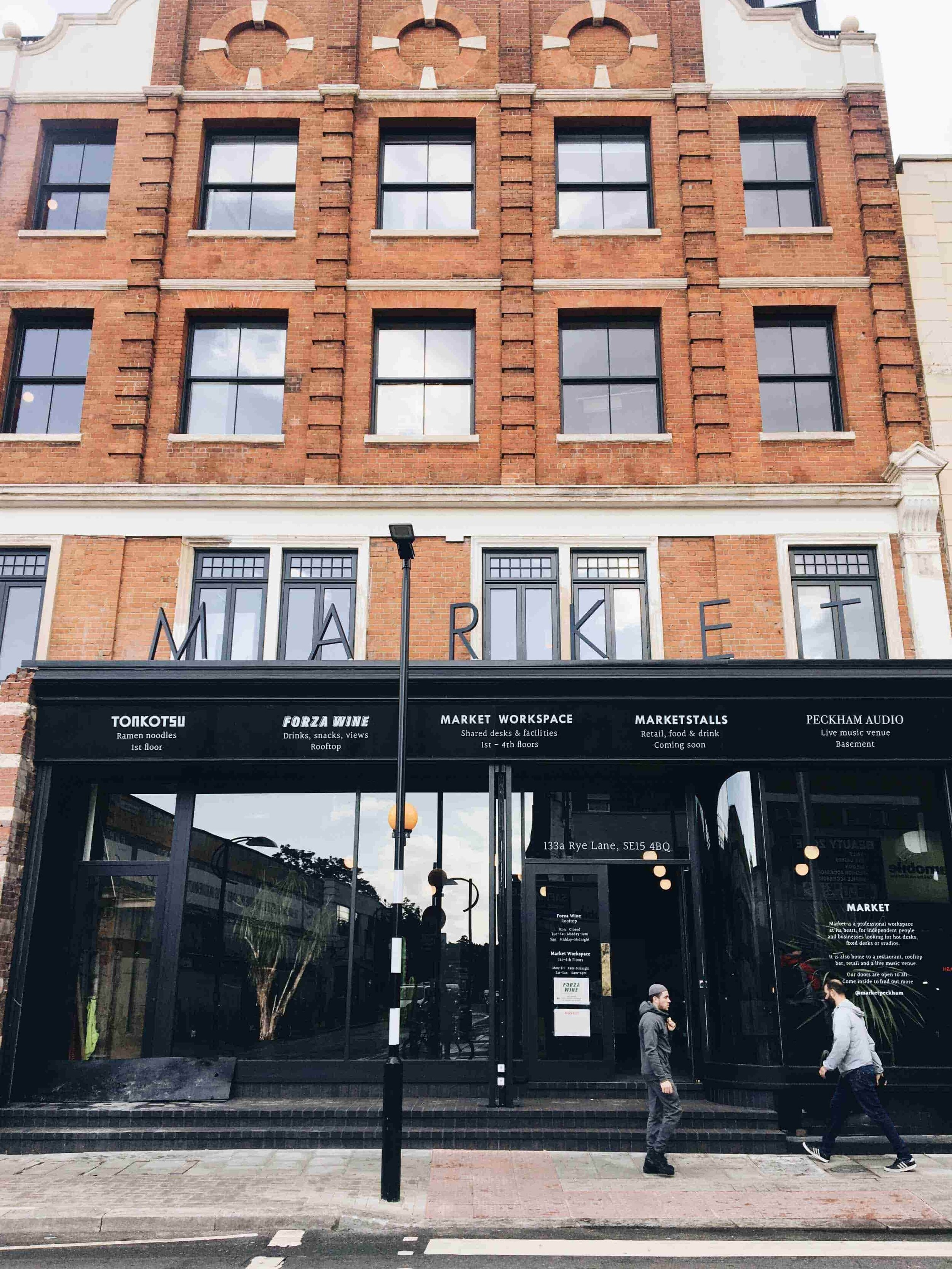 The newly refurbished Edwardian building, home to Market. Image: SouthEast15