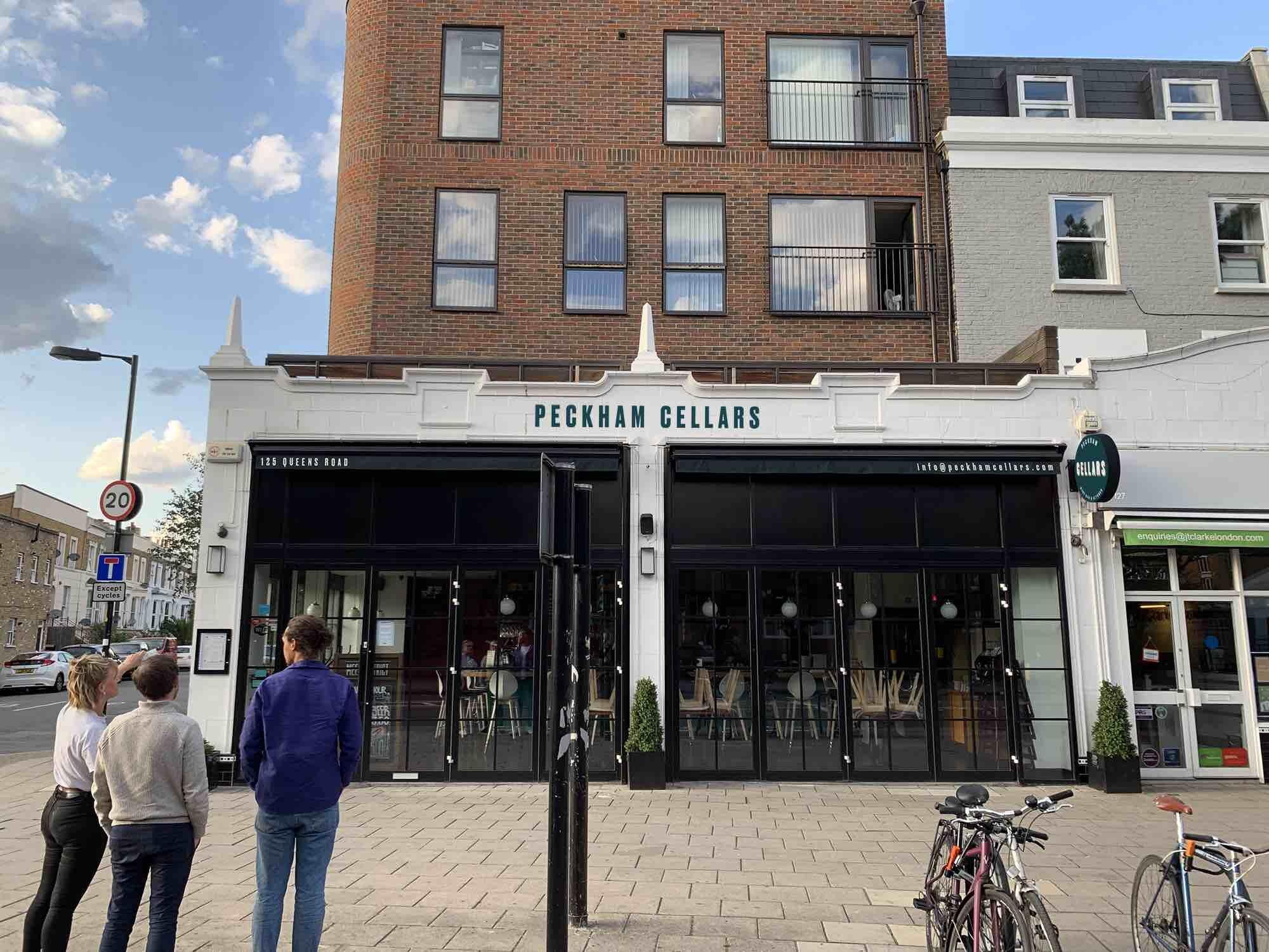 Soon to open Peckham Cellars bar. Image: https://peckhamcellars.co.uk/