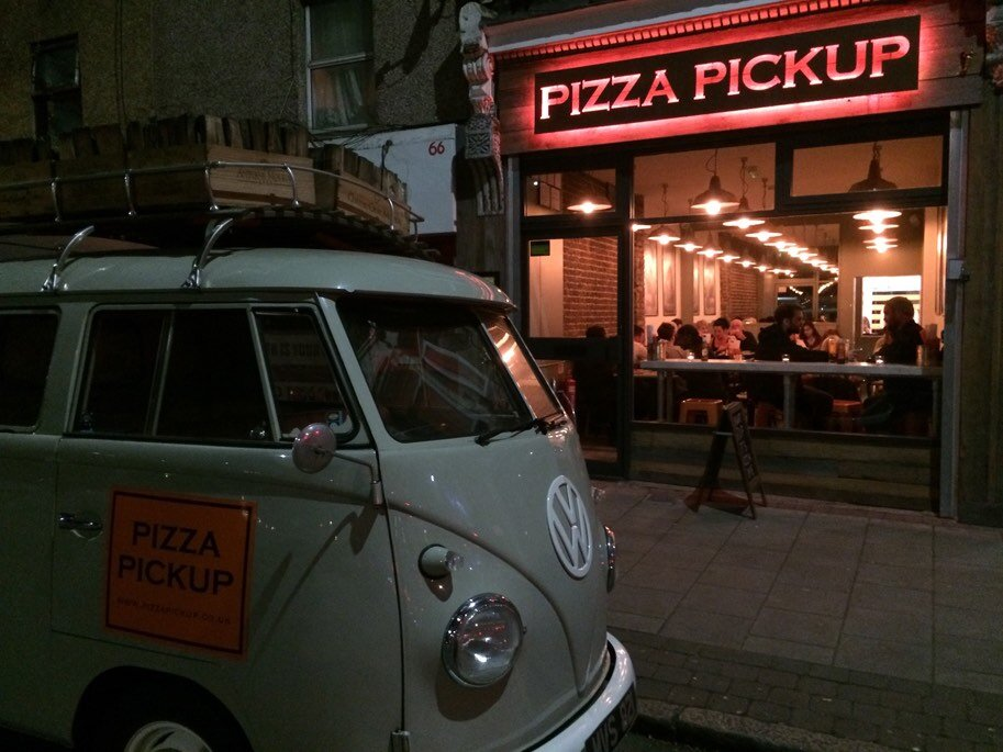 Pizza Pick Up in Peckham has now closed. Image: Pizza Pick Up