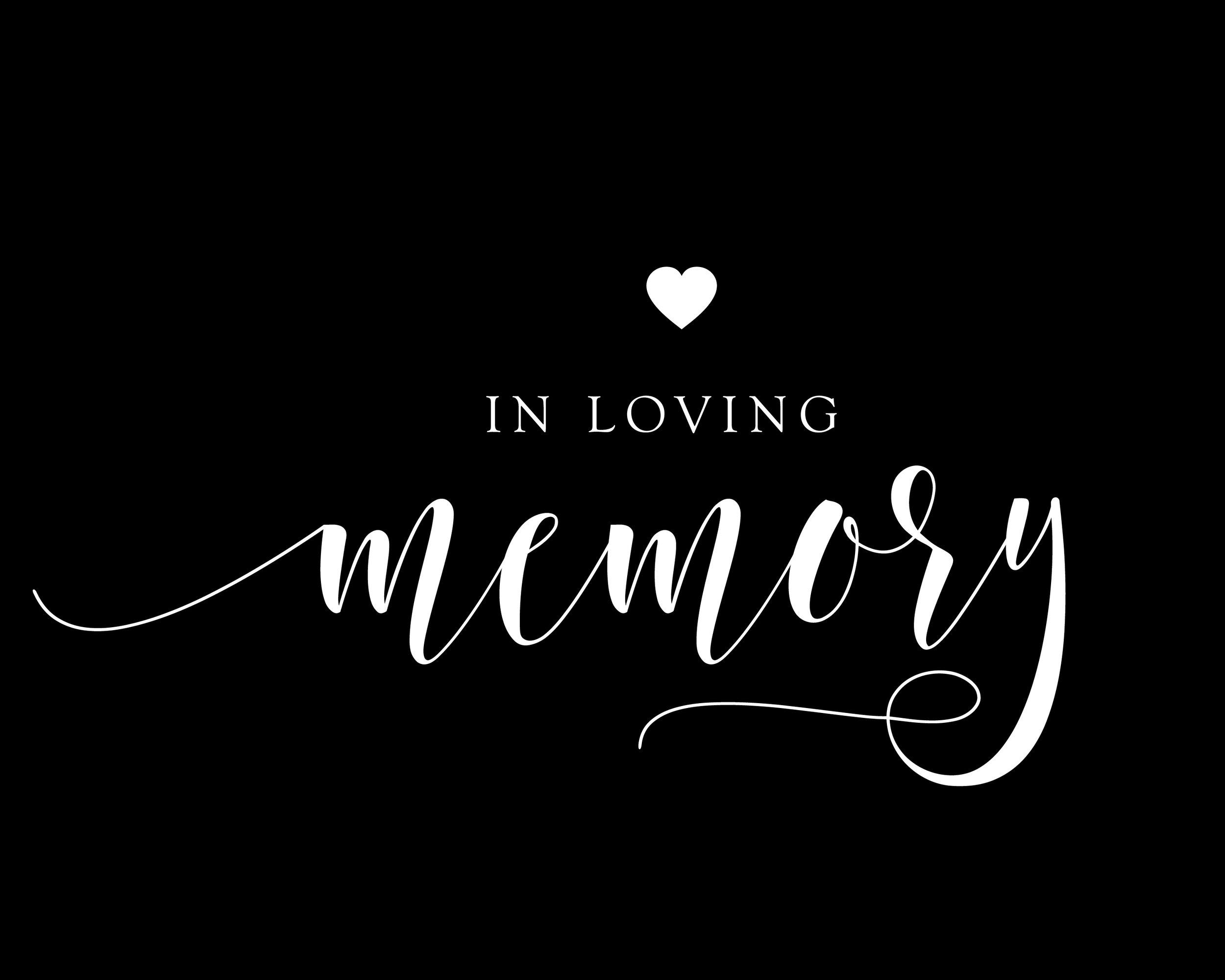 Im Memoriam for Billy Dale King    From Carla & David Letassy and Nancy Abernathy