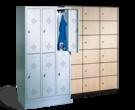Assembled Box Lockers