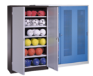 "<div style=""white-space: pre-wrap;"">Sports Equipment Cabinets</div>"