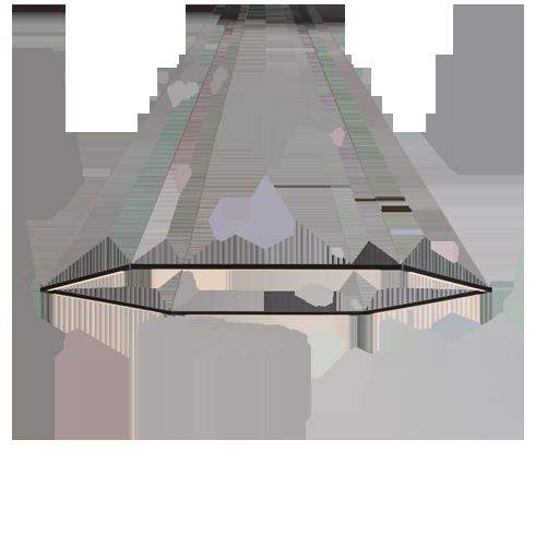 Z-Bar Honeycomb