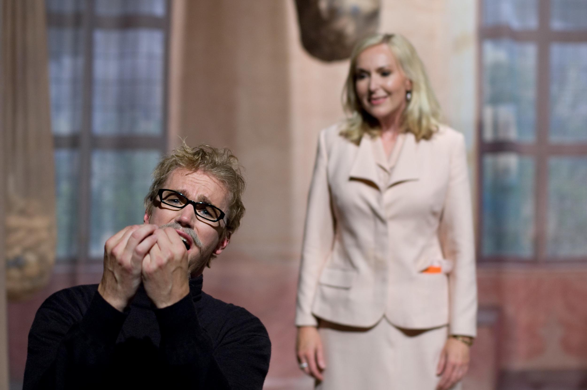 Näsflöjten, Vadstena-Akademien 2009 Fr v Zeke Bupp-Carl Ackerfeldt, Kulturministern-Ulrika Tenstam.JPG