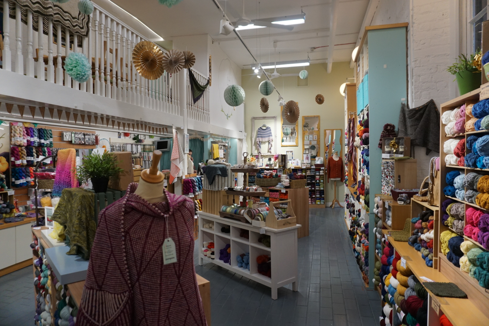 Inside This is Knit in Dublin's Creative Quarter