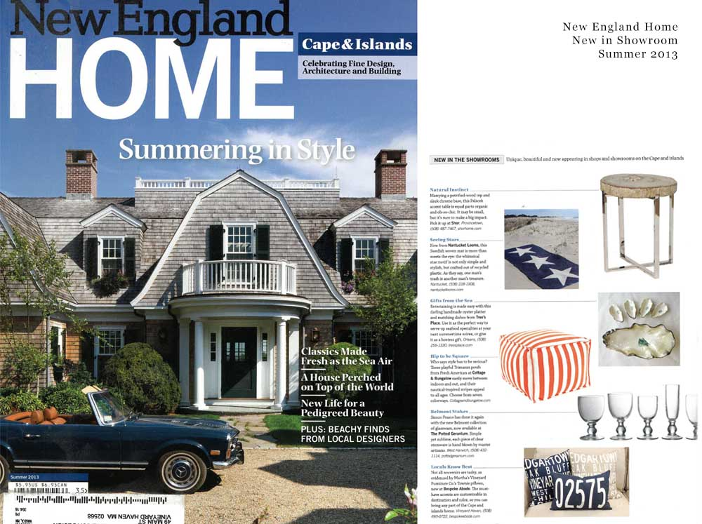 New England Home,  New in Showroom