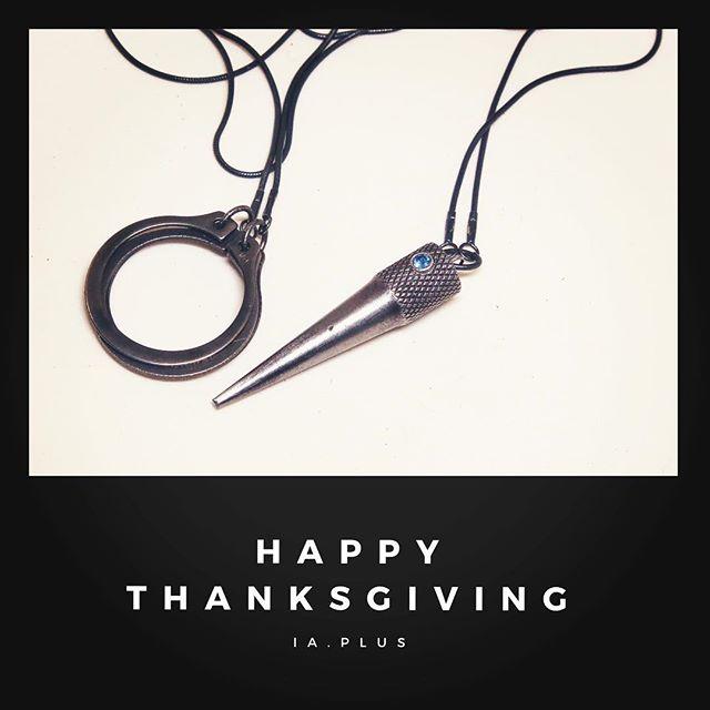 Happy thanksgiving from IA+! 🍁 . . . #iaplus #minimal #industrialjewelry #tinypiecesofhistory #jewelrydesign