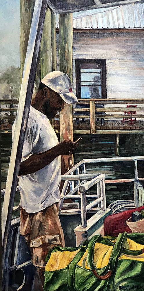 Best in Show:    Sarah Volker - Going Home, Sapelo Island