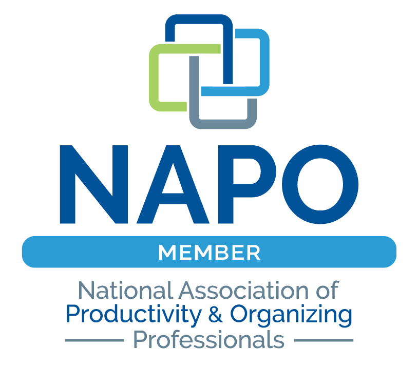 We adhere to NAPO's  Code of Ethics  which guides our professional conduct with our clients and colleagues.