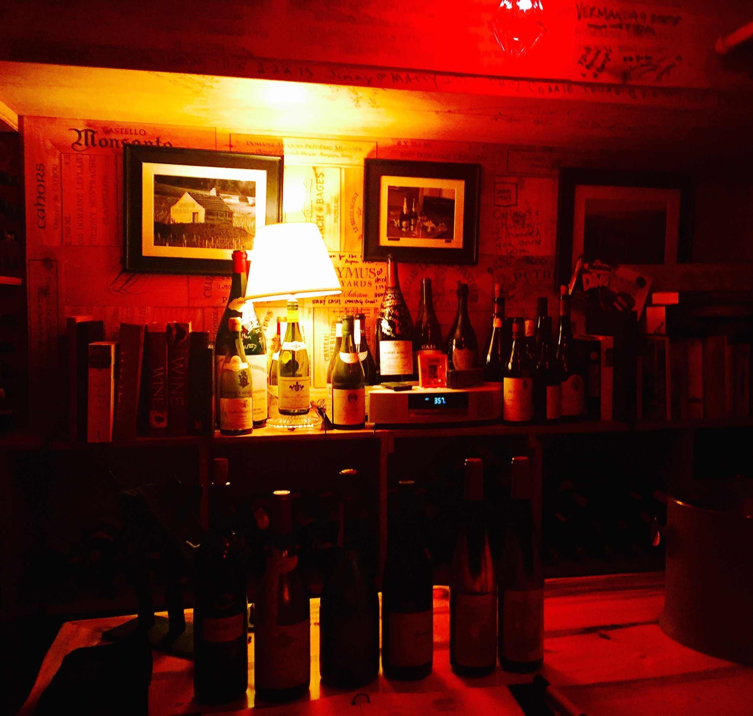The Wine Cellar at The Little Nell/Photo courtesy of the Aspen Skiing Company