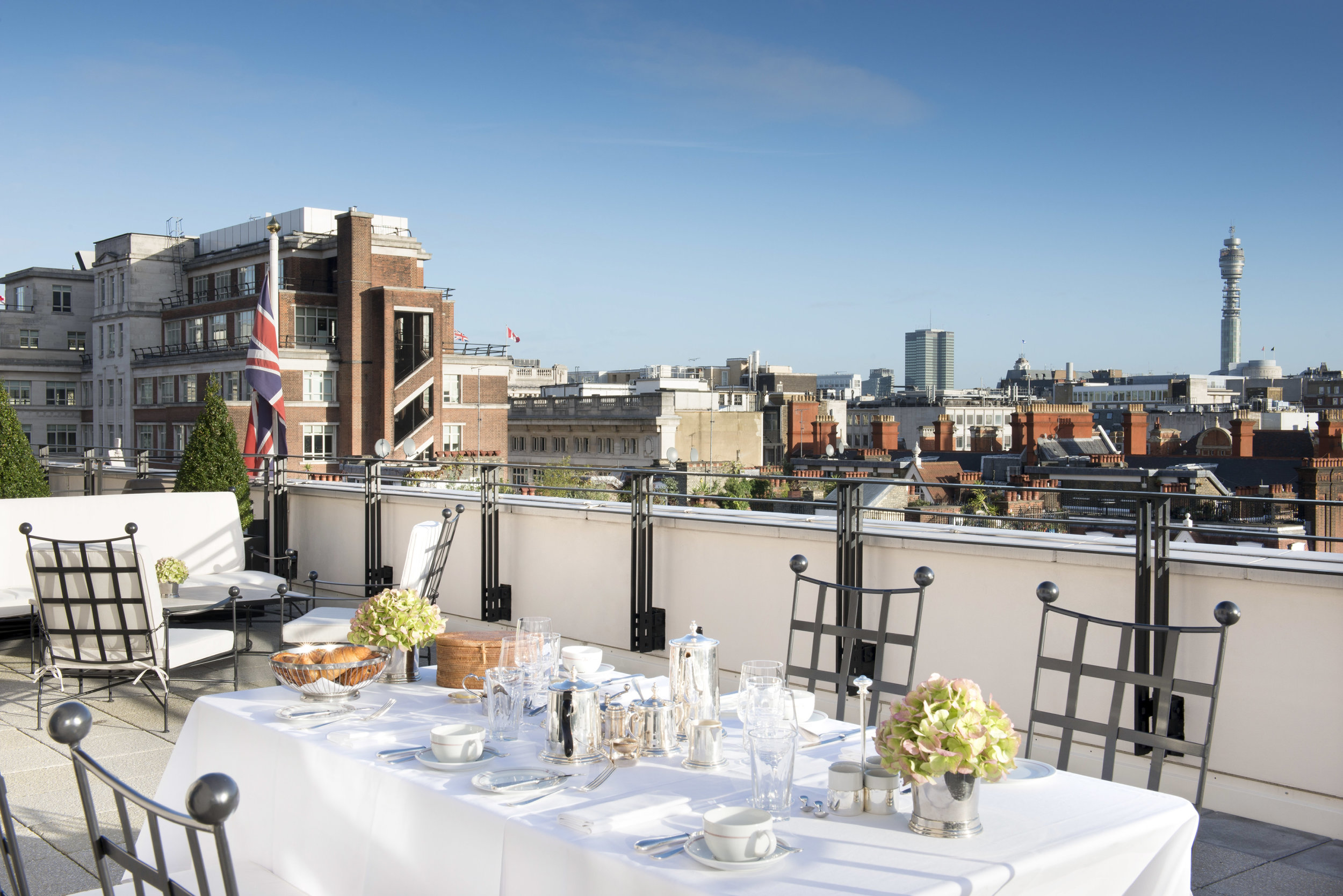 The terrace suite