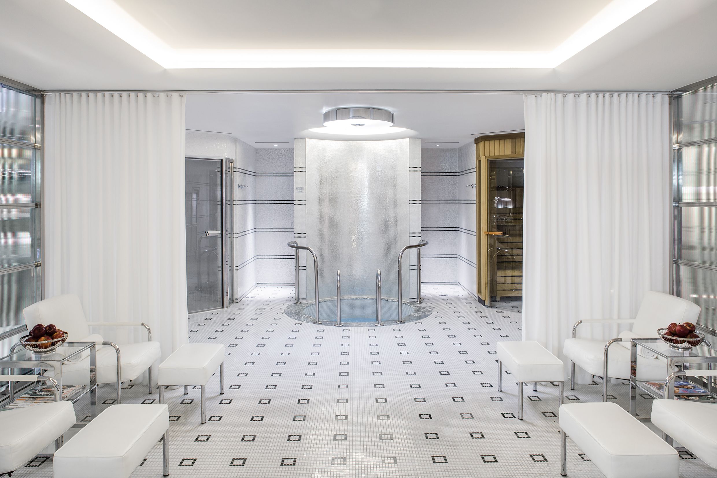 The Beaumont's snazzy spa