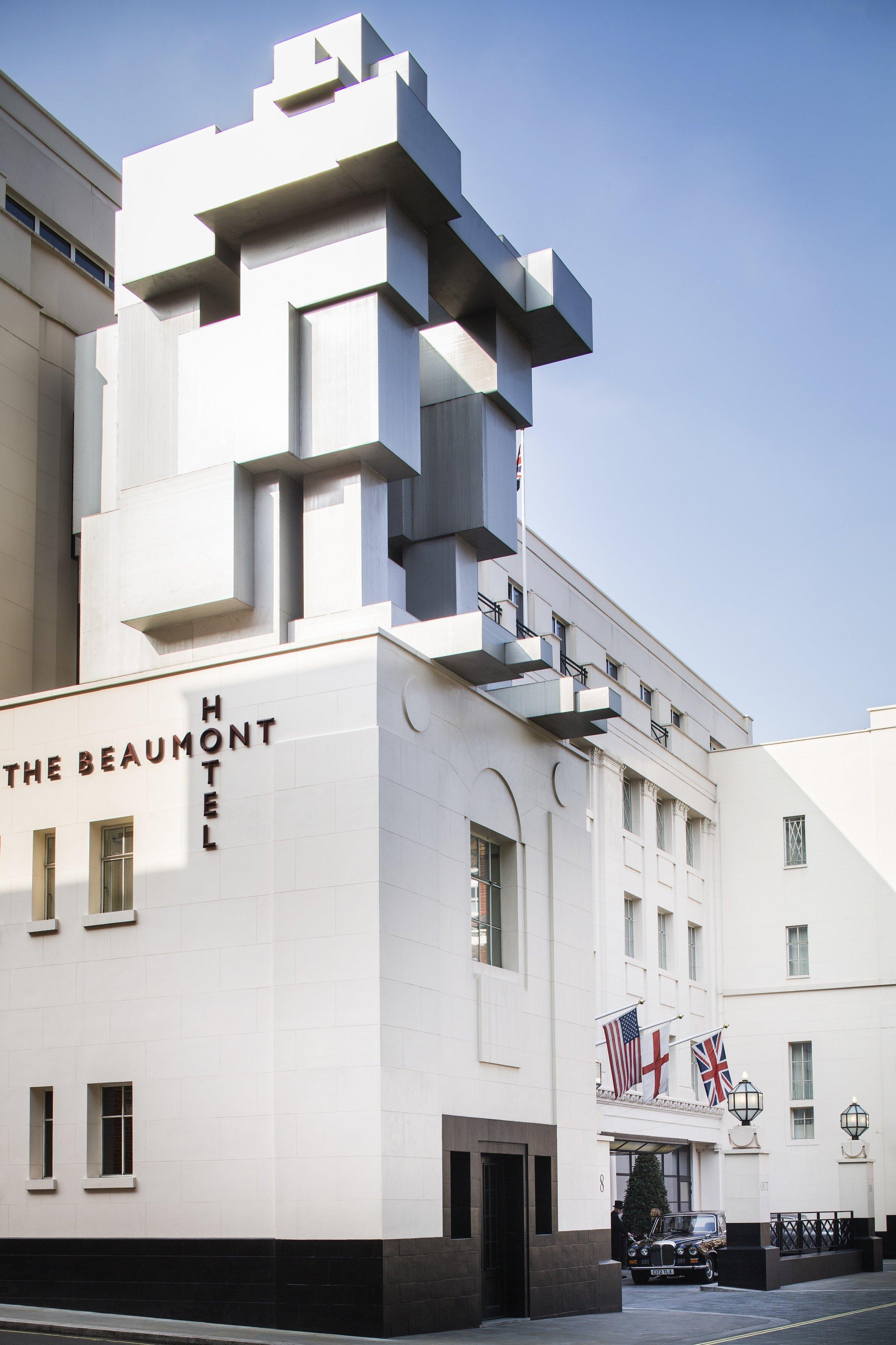 """Room,"" an inventive contemporary public sculpture by Antony Gormley also incorporates a hidden suite"