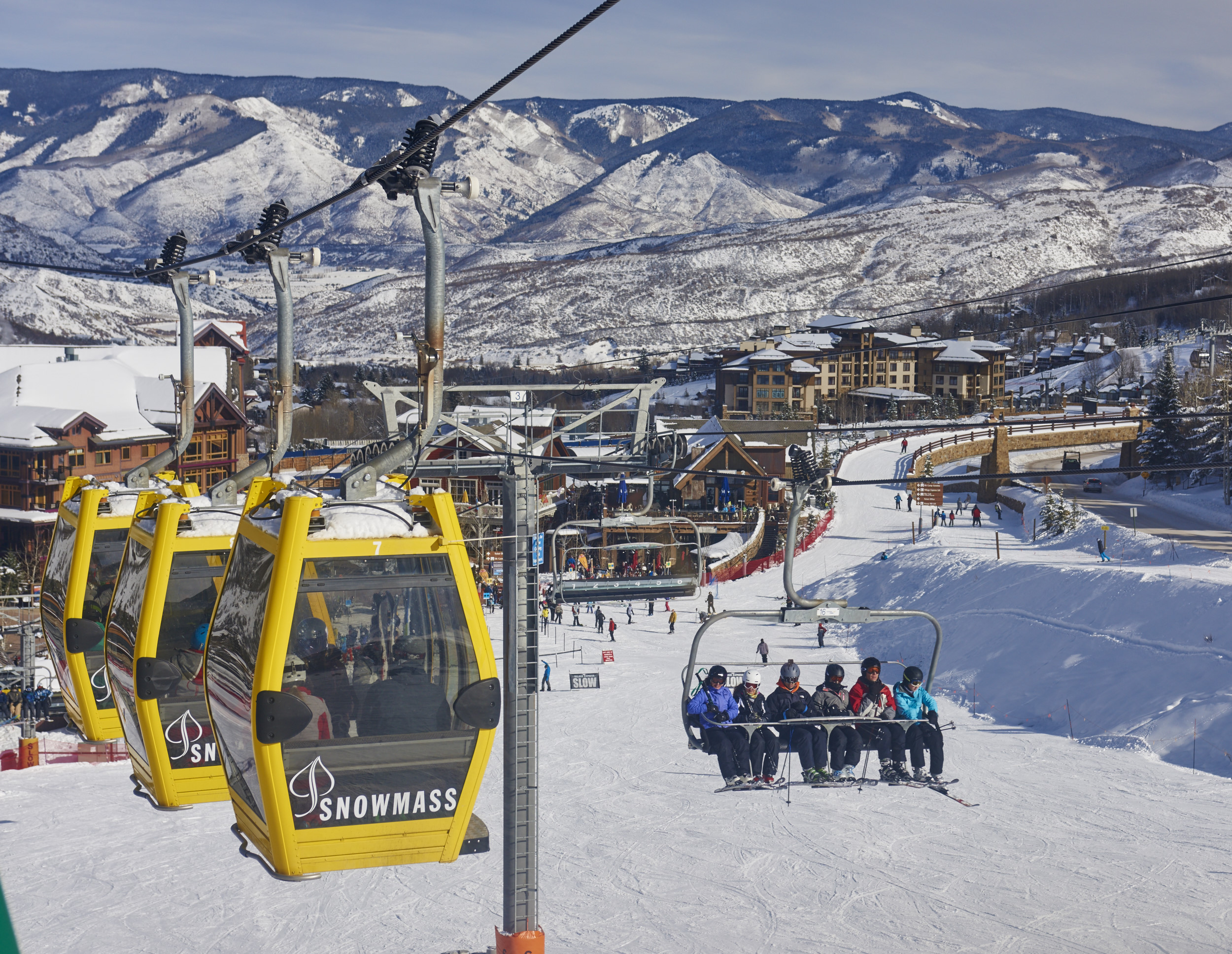 There are so many fabulous ski trails at snowmass, from beginner to expert. Aspen Skiing Company