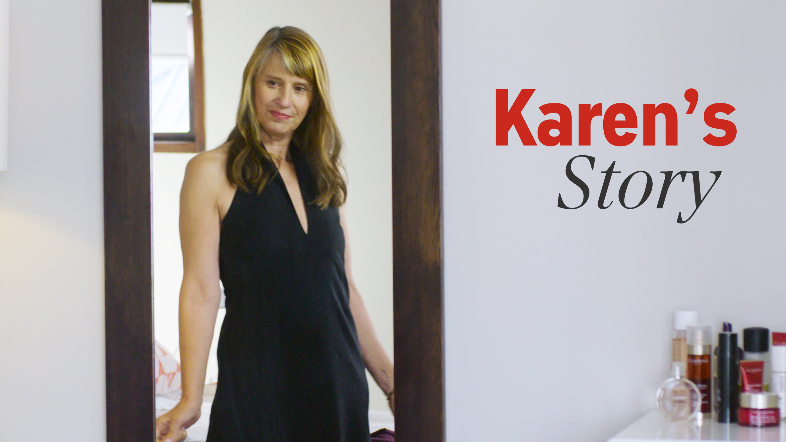 """Karen  has battled psoriasis all her adult life, but she never gave up hope of finding something that actually worked. The best part? - """"People aren't constantly suggesting that I have dandruff."""""""