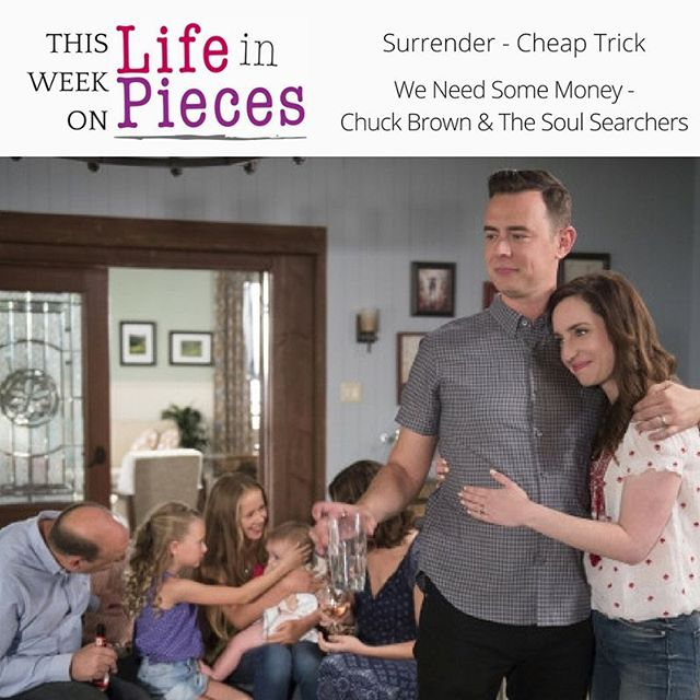 All new @lifeinpiecescbs TONIGHT! Join the Shorts in celebrating Lark's first birthday 🐣🎂 #tvmusic #cbs #lifeinpieces