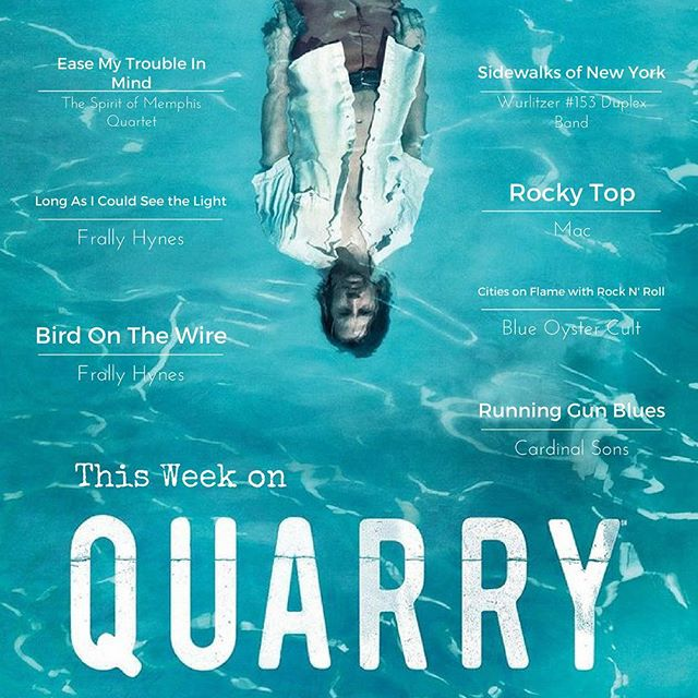 The season finale of #Quarry is tonight at 10PM on @cinemax! Still a few great performances in store... #tvmusic #blues #soul #memphis