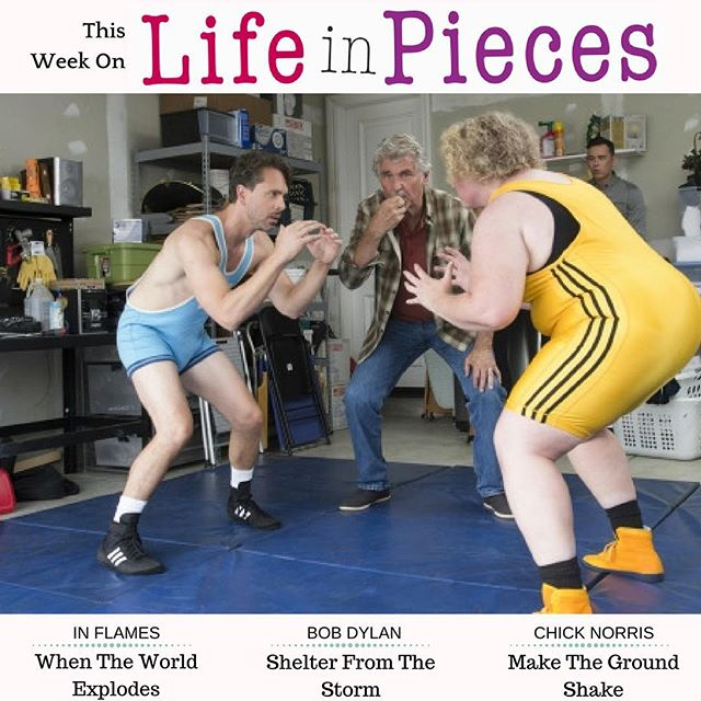 Tune in TONIGHT for the season 2 premiere of @lifeinpiecescbs featuring songs by @inflames @chicknorris818 & #bobdylan!