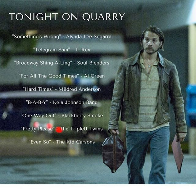 Don't miss #Quarry tonight on @Cinemax! Tons of great #soul on your screen RIGHT NOW (including more than one live performance)! Tune in....